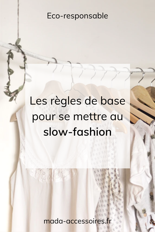 slow fashion épingle pinterest